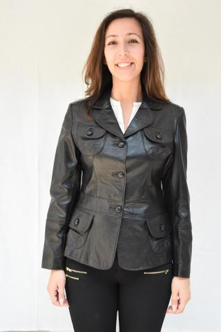 ženska jakna pelc velur