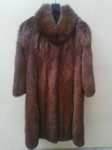 ženska bunda-duga