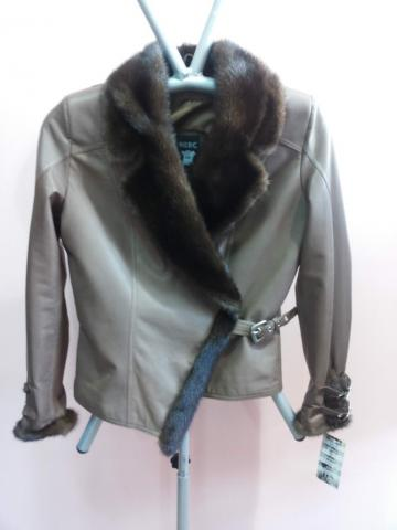 ženska kozna jakna