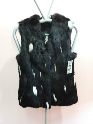 Women's rabbit fur vest